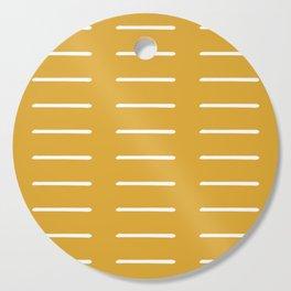 organic / yellow Cutting Board