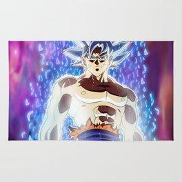Goku Migatte No Gokui Dragon Ball Super Ultra Instinct Rug
