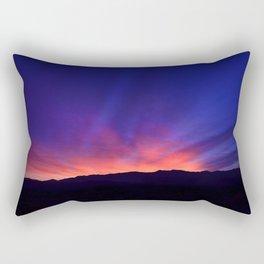 SW Mountain Sunrise - 6 Rectangular Pillow
