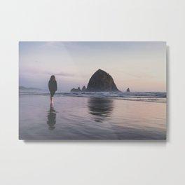 Coastal Reflections Metal Print
