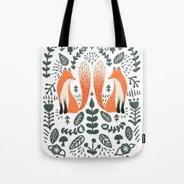 Fox Lore Tote Bag