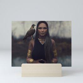 The Eye Of The Falcon Mini Art Print
