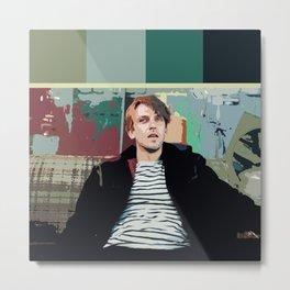 David Haller (Color Swatch) 3 Metal Print