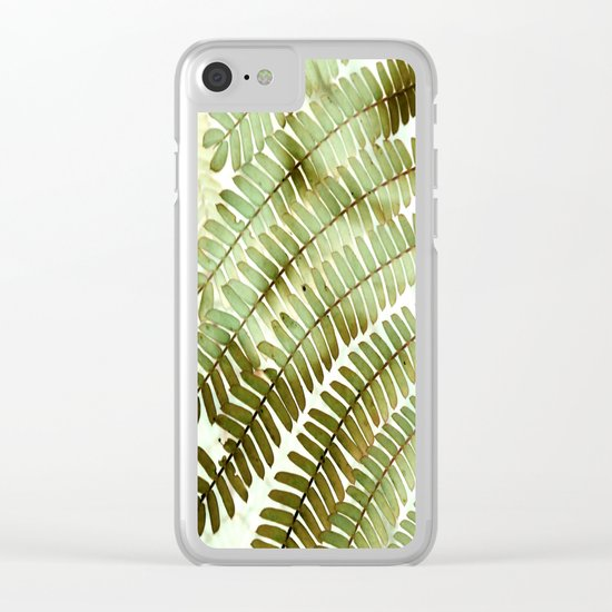 Foliage 2 Clear iPhone Case