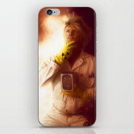 Doctor Emmett Brown iPhone Skin
