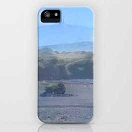Arctic Mount Brocken iPhone Case