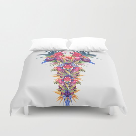 Parrot Kingdom Duvet Cover