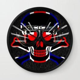 UK Skull / JP Wall Clock