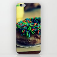 doughnut iPhone & iPod Skins featuring Doughnut by lauraflores013