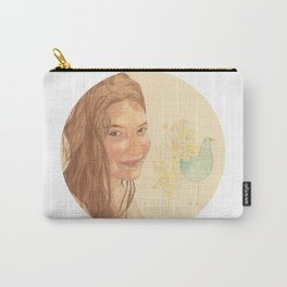 The bird girl Carry-All Pouch