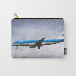 KlM Embraer 190 Art Carry-All Pouch