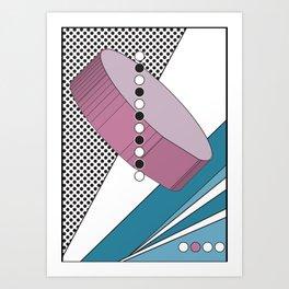 Geometric Calendar - Day 30 Art Print