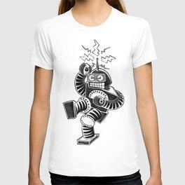 ELECTRIC! (Air-Guitaring Robot) T-shirt