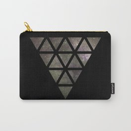 Galaxy Triangular Bicolor Carry-All Pouch