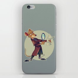 Basil, the great mouse detective! iPhone Skin