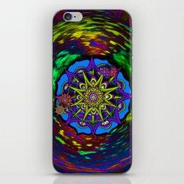 Mandala Cluster iPhone Skin