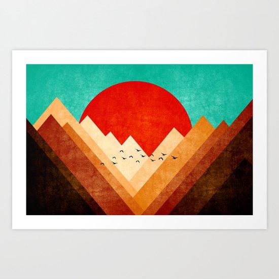 On top nature Art Print
