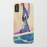 stitch iPhone & iPod Cases featuring Stitch by Chiaris