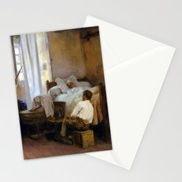 Gaston La Touche The First Born Stationery Cards