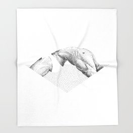 Doood 4 Throw Blanket