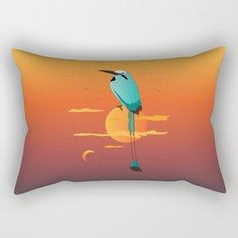 Oklahoma Bird Rectangular Pillow