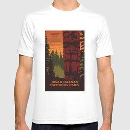 Gwaii Haanas National Park Reserve, National Marine Conservation Area Reserve & Haida Heritage Site T-shirt