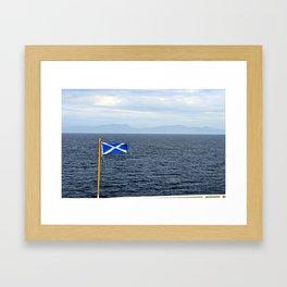 Scottish Hebrides Framed Art Print