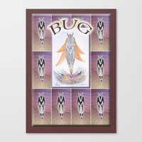 bug Canvas Prints featuring BUG by CrismanArt