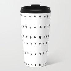 Modern boho dot Travel Mug