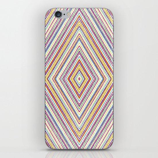 CRAYON STRIPES iPhone & iPod Skin