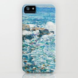 Surf, Isles of Shoals - Childe Hassam iPhone Case