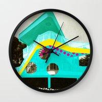 bauhaus Wall Clocks featuring BauHaus 2 by Marko Köppe