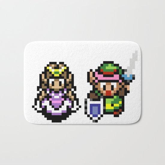 Zelda and Link Bath Mat