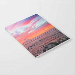 Caribbean Sunset Notebook