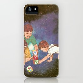 Space Play iPhone Case