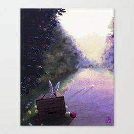 The Apple's Stealer Canvas Print