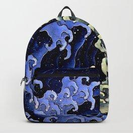 "Hokusai (1760–1849) ""Femenine wave"" Backpack"