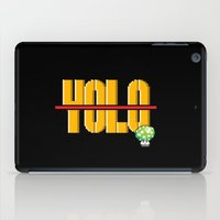 yolo iPad Cases featuring YOLO? by Agent Cake