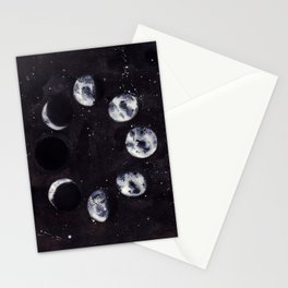 Lunar Cycle Stationery Cards