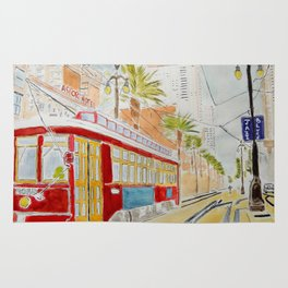 New Orléans Tramway Rug