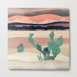 Desert Dawn Metal Print