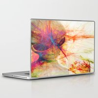 contact Laptop & iPad Skins featuring Contact by Joe Ganech
