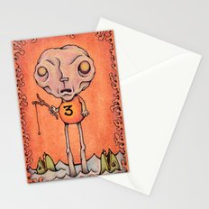Number Three Stationery Cards