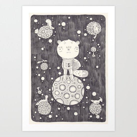 Cosmogonie Art Print