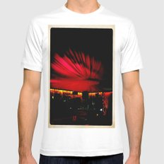 Boreal White Mens Fitted Tee MEDIUM