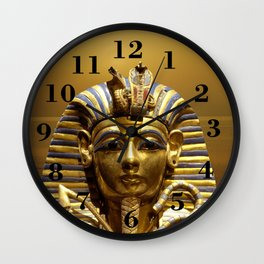 Egypt King Tut Wall Clock
