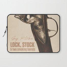 Lock, Stock and Two Smoking Barrels, Guy Ritchie, british film, Jason Statham, Dexter Fletcher Laptop Sleeve