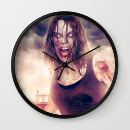 Ashes and Blood Wall Clock