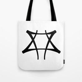 Vance Symbol-Black Tote Bag