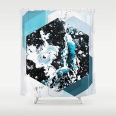 Geometric Textures 4 Shower Curtain